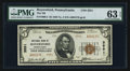 National Bank Notes:Pennsylvania, Royersford, PA - $5 1929 Ty. 2 The NB of Royersford Ch. # 3551. ...