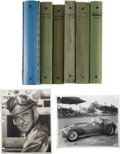 Miscellaneous Collectibles:General, 1951-63 Indianapolis & Sprint Vintage Photographs Lot of 6Albums....