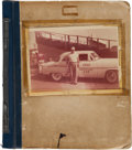 Miscellaneous Collectibles:General, 1930's-50's Indianapolis 500 Scrapbook of Vintage Photographs....