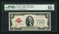 Small Size:Legal Tender Notes, Fr. 1501* $2 1928 Legal Tender Note. PMG Choice Extremely Fine 45.. ...