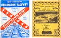 Miscellaneous Collectibles:General, 1950-81 Darlington Raceway Programs Lot of 22....