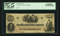 "Confederate Notes:1862 Issues, Manuscript Endorsement ""Thos. D. Hamilton"" T41 $100 1862 PF-1 Cr.310.. ..."