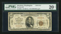National Bank Notes:Washington, Aberdeen, WA - $5 1929 Ty. 1 The First NB Ch. # 11751. ...