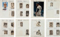 Baseball Collectibles:Others, 1970's Baseball Autograph Collection With 320+ Signatures. ...