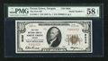 National Bank Notes:Oregon, Forest Grove, OR - $10 1929 Ty. 1 The First NB Ch. # 8036. ...