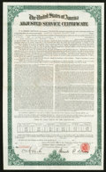 Miscellaneous:Other, $1474 Adjusted Service Certificate of January 1925.. ...
