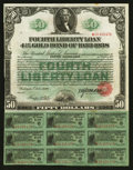 Miscellaneous:Other, Fourth Liberty Loan 4 1/4% Gold Bond of 1933-38 $50 Oct. 24, 1918....