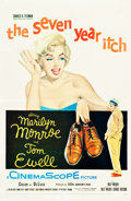 "Movie Posters:Comedy, The Seven Year Itch (20th Century Fox, 1955). One Sheet (27"" X41.5"").. ..."