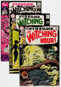 Bronze Age (1970-1979):Horror, The Witching Hour #7, 10, and 12 Group (DC, 1970-71) Condition:Average NM-.... (Total: 3 Comic Books)