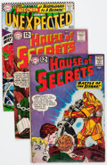 Silver Age (1956-1969):Horror, House of Secrets/Tales of the Unexpected Group (DC, 1961-67)Condition: Average VG.... (Total: 18 Comic Books)