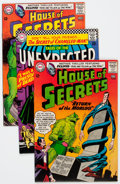 Silver Age (1956-1969):Horror, House of Secrets/Tales of the Unexpected Group (DC, 1963-68)Condition: Average VF.... (Total: 8 Comic Books)