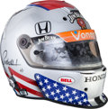Miscellaneous Collectibles:General, 2006 Michael Andretti Indianapolis 500 Carb Day Worn Helmet....
