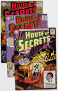 Silver Age (1956-1969):Horror, House of Secrets Group (DC, 1961-66) Condition: Average FN....(Total: 12 Comic Books)