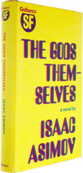 Books:First Editions, Isaac Asimov: The Gods Themselves....