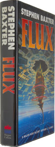 Books:Signed Editions, Stephen Baxter Signed: Flux....