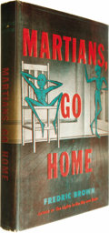 Books:First Editions, Frederic Brown: Martians, Go Home....