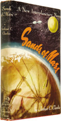 Books:Signed Editions, Arthur C. Clarke Signed: Sands of Mars. (New York: Gnome Press, 1952), first edition, 216 pages, red boards, 8vo...