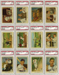 Baseball Cards:Sets, 1959 Fleer Ted Williams Baseball PSA-Graded Complete Set (80). Offered is a completely graded Ted Williams set, including th...