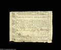 Colonial Notes:North Carolina, North Carolina December, 1768 40s Extremely Fine....