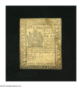 Colonial Notes:Delaware, Delaware May 1, 1777 5s About New. A single fold is found on thisnote that has some soiling....