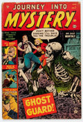 Golden Age (1938-1955):Horror, Journey Into Mystery #7 (Marvel, 1953) Condition: GD....