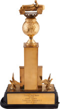 Miscellaneous Collectibles:General, 1940 Trophy Dash Award Won by Henry Banks....