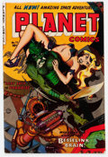 Golden Age (1938-1955):Science Fiction, Planet Comics #72 (Fiction House, 1953) Condition: VG....