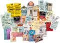 Miscellaneous Collectibles:General, 1960's-2000's Racing Tickets, Passes, Credentials & More Lot of325....