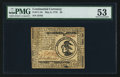 Colonial Notes:Continental Congress Issues, Continental Currency May 9, 1776 $3 PMG About Uncirculated 53.. ...