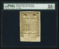 Colonial Notes:Rhode Island, Rhode Island May 1786 30s PMG About Uncirculated 55 EPQ.. ...