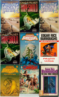 Books:Science Fiction & Fantasy, Edgar Rice Burroughs. Group of Nine Mass Market Paperbacks. Various publishers and dates. ... (Total: 9 Items)