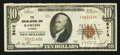 National Bank Notes:Wyoming, Rawlins, WY - $10 1929 Ty. 1 The Rawlins NB Ch. # 5413. ...