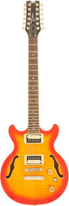 Musical Instruments:Electric Guitars, 2000's Dean Boca 12-String Electric Guitar, Serial # 06081136. ...