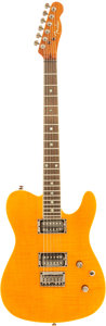 Musical Instruments:Electric Guitars, 2000's Fender Telecaster Blonde Solid Body Electric Guitar, Serial# 05052798....