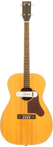 Musical Instruments:Acoustic Guitars, 1950's Harmony TG1201 Natural Acoustic Tenor Guitar....