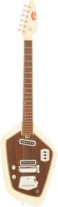 Musical Instruments:Electric Guitars, Circa 1968 Royalist Vox Phantom Copy White Solid Body ElectricGuitar....