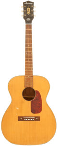 Musical Instruments:Acoustic Guitars, 1970 Harmony F67 Natural Acoustic Guitar....