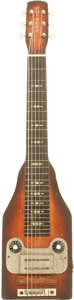 Musical Instruments:Lap Steel Guitars, 1950's Roybert Sunburst Lap Steel Guitar....