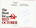 Books:Mystery & Detective Fiction, Tom Clancy. INSCRIBED. The Hunt for Red October. Annapolis,MD: Naval Institute Press, [1984]. First edition....