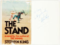 Books:Horror & Supernatural, Stephen King. INSCRIBED. The Stand. Garden City: Doubledayand Co., 1978. Stated first edition. ...