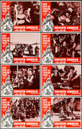 """Movie Posters:Exploitation, Devil's Angels (American International, 1967). Lobby Card Set of 8 (11"""" X 14"""") & Pressbook (16 Pages, 11"""" X 17""""). Exploitati... (Total: 9 Items)"""