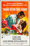 "Movie Posters:Academy Award Winners, Gone with the Wind (MGM, R-1968/R-1974). One Sheet (27"" X 41"") & Photos (4) (8"" X 10""). Academy Award Winners.. ... (Total: 5 Items)"