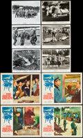 "Movie Posters:War, The Great Escape (United Artists, 1963). Lobby Cards (4) (11"" X14"") & Photos (9) (8"" X 10""). War.. ... (Total: 13 Items)"