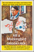 "Movie Posters:Drama, To Kill a Mockingbird (Universal, 1963). One Sheet (27"" X 41"").Drama.. ..."
