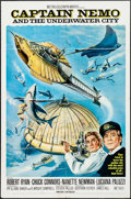 """Movie Posters:Science Fiction, Captain Nemo and the Underwater City & Other Lot (MGM, 1969).One Sheets (2) (27"""" X 41""""). Science Fiction.. ... (Total: 2 Items)"""
