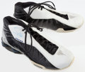 Basketball Collectibles:Others, Tony Delk Game Worn, Signed Sneakers....