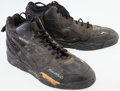 Basketball Collectibles:Others, Xavier McDaniel Game Worn Sneakers....