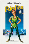 """Movie Posters:Animation, Peter Pan (Buena Vista, R-1976/R-1982). One Sheets (2) (27"""" X 41""""). Animation.. ... (Total: 2 Items)"""