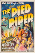 "Movie Posters:Drama, The Pied Piper (20th Century Fox, 1942). One Sheet (27"" X 41""). Drama.. ..."