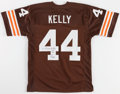 Football Collectibles:Uniforms, Leroy Kelly Signed Cleveland Browns Jersey....